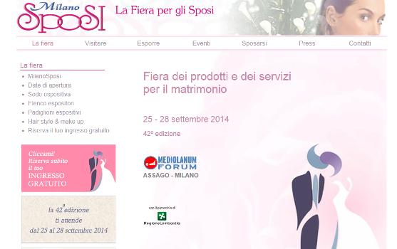 Milano Sposi 2014