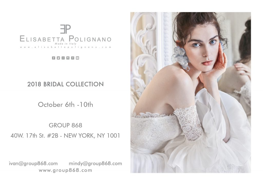 TRUNK SHOW 2018 Bridal Collections in New York