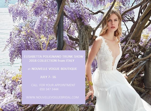 TRUNK SHOW USA Nouvelle Vogue Bridal
