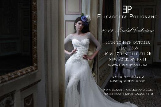 Elisabetta Polignano 2015 Bridal Collection