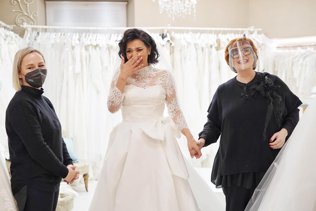 Roberta Torresan in Elisabetta Polignano: emozione pura grazie al Giardino Fiorito delle Spose