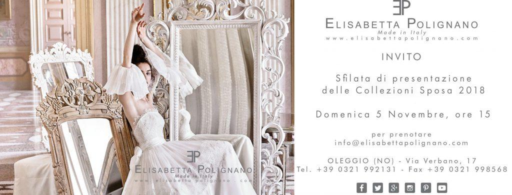ITALY Sfilata di presentazione delle Collezioni Sposa 2018 in Atelier – Oleggio (NO)