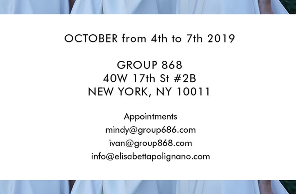 NEW YORK BRIDAL FASHION WEEK 2019 october